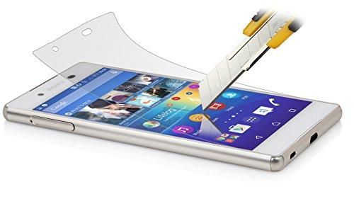 StilGut Displayschutzfolie Sicherheitsglas passend für Sony Xperia Z3+ (2er-Pack)