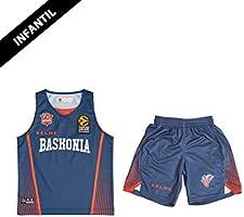 Baskonia 2o Equipment Minikit, Jugend Unisex, Blau, 8