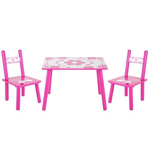 Maltisch und Stühle, für Kinder, Holztisch und Stühle, für Kinder