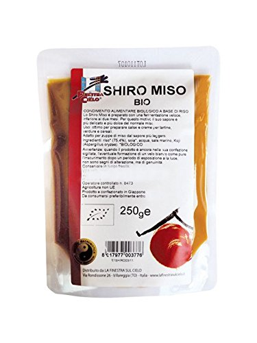 IJSALUT - Shiro Miso Bianco Borsa La Finestra 250 gr