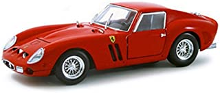 Hot Wheels 1962 Ferrari 250 GTO diecast Model car 1:18 Scale diecast Red 23912
