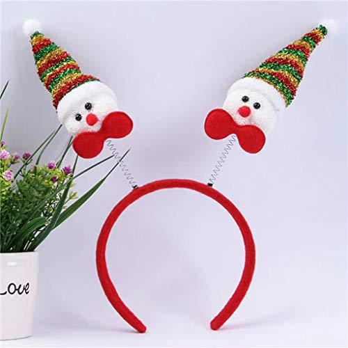 Navidad Cosplay Animal Cornamentas Diadema Flor Disfraz Diadema Accesorios Ropa Zapatos y Accesorios Diadema