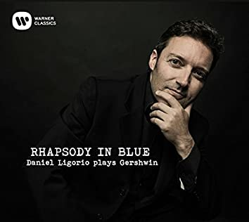Rhapsody in Blue. Daniel Ligorio plays Gershwin