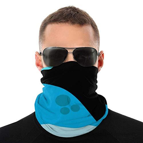Personalisierte Blauwal Clipart Nautische Gesicht Schal Hals Gamasche Rohr Magisches Kopftuch, Multifunktionale Bandanas Sturmhaube Anti Staub