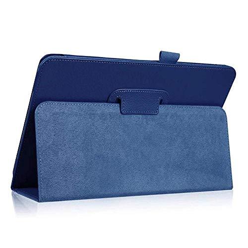 Folio Case For Samsung Galaxy Tab S4 10.5 Inch 2018 (SM-T830 / T835 / T837) PU Flip Folding Stand Cover Auto Wake/Sleep Funcation Case-T830 T835 dark blue