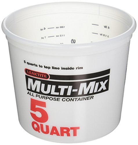 LEAKTITE - 5-Qt. Multi-Mix Container