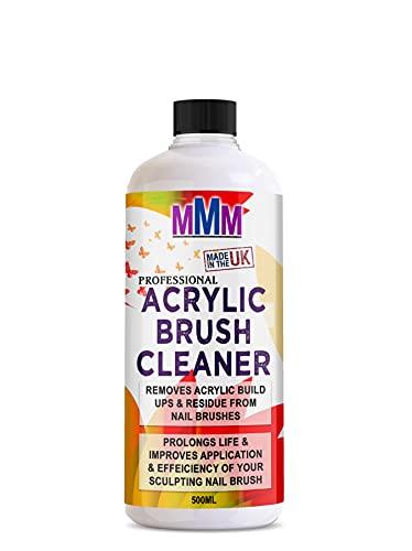 Nettoyant liquide pour pinceaux à ongles en acrylique (500 ml)