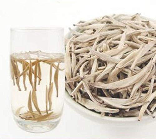 100g chinesische Fuding Weißer Tee Silber Nadel Bai Hao Yin Zhen Tee Anti-Alte Tee