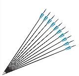 CHICAI Archeador para niños 6mm Flechas de fibra de vidrio infantil...