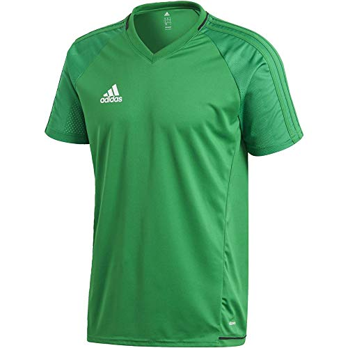 adidas Herren Tiro 17 Training Trikot, grün (Green/Black/White), M