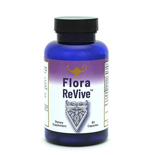RnA Reset - Flora Revive, Daily SBO Probiotic Capsules, 10 Billion CFU, Soil Based Probiotic, Shelf Stable, Complete Gut Health, 60 Capsules - by Dr. Carolyn Dean