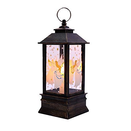 Vividness Tischlampe, Weihnachtskerze Light Side Tischlampe, LED-Teelicht Weihnachtsbeleuchtung for Haus Weihnachtsdekoration Partei-Feiertag Atmosphäre Kaffee Tischdekoration Lampe