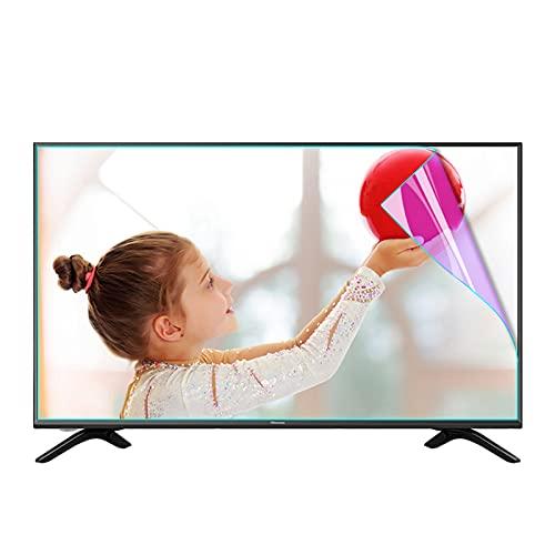 KELUNIS Luz Azul Anti Película Protectora De Pantalla para TV, Protector De Pantalla Antideslumbrante Aliviar La Fatiga Ocular Y Dormir Mejor para LCD, LED, OLED Y QLED 4K HDTV,55' (1221 * 689)