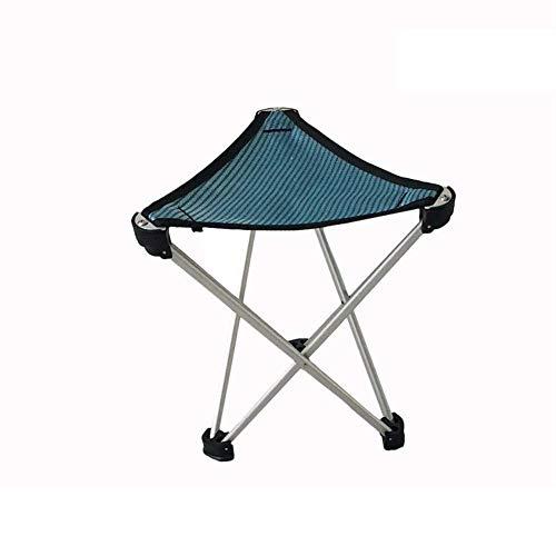showyow Silla de Pesca pequeña, reposapiés de Camping Plegable, Taburete de Pesca Ligero, Ideal para Camping, Pesca, Barbacoa