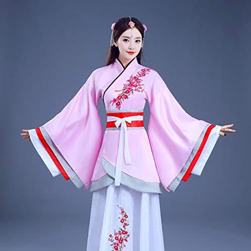 Cxlyq Hanfu Chinesisches Traditionelles Kostüm Kleidung Kostüm Hanfu Weibliche Frauen Dame Princess Portrait Han Tang Dynastie Edles Kleidungsstück Dwy1153