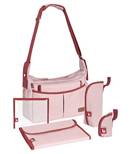 Babymoov A043591 Babymoov Wickeltasche Urban Bag rosa, rosa