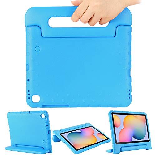 GHC - Fundas y fundas para Samsung Galaxy Tab S6 Lite de 10.4 2020 P610/P615 EVA a prueba de golpes, protección completa del cuerpo portátil, con asa de soporte (color: azul)