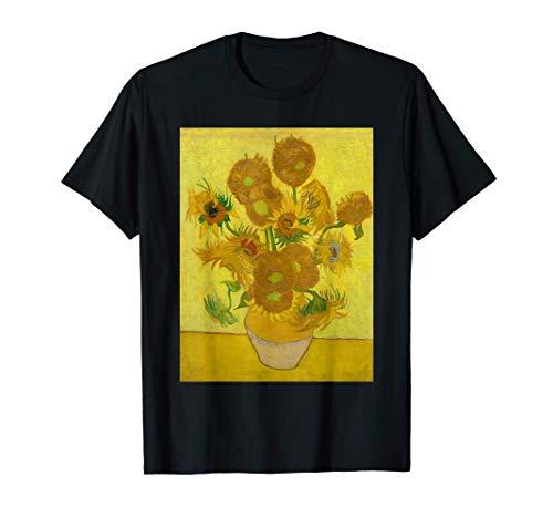 Girasoles de Vincent Van Gogh Camiseta