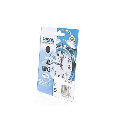 Original Epson C13T27114010 / 27XL, für Workforce WF-7710 DWF Premium Drucker-Patrone, Schwarz, 1100 Seiten, 17,70 ml