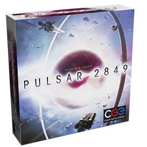 Czech Games Edition CGED00396 Pulsar 2849 Brettspiel, Bunt