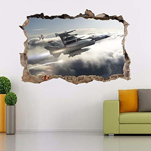 Wandtattoos Wandaufkleber Fighting Fighter Airplane Smashing Wandtattoo Wandaufkleber Art.-Nr.