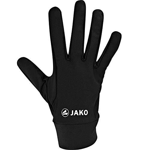 JAKO Feldspielerhandschuhe Funktion, Größe:9, Farbe:schwarz