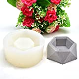 MoonyLI 3D Fondantform Silikonform DIY Kuchen Backen Form Torteform Seife Giessform Blumentopf