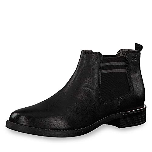 s.Oliver Damen 5-5-25335-33 Chelsea Boots, Schwarz (Black 001), 40 EU