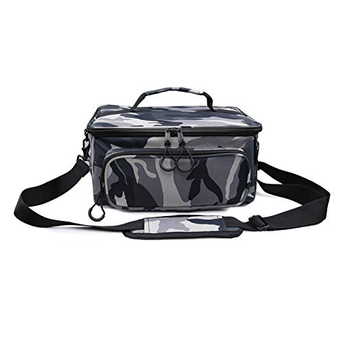 Angel Tasche Gross Angeltasche Fishing Tackle Bag Wasserdichter Angelbeutel Angel Koffer Rucksack Angelgerät Tasche Für Aufbewahrung Angelzubehör