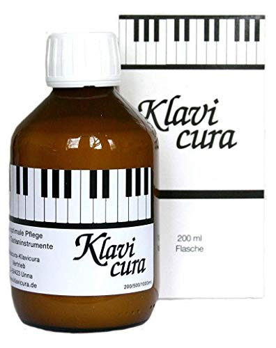 Klavicura Reinigungs- und Pflegemittel für Klaviere und Flügel (200 ml)
