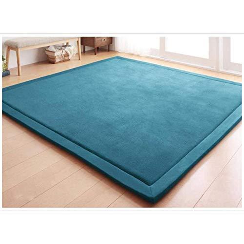 Review Of Infants Play Mat,Baby Game Mat Living Room Carpet Kids Crawling Mat Coral Fleece Foam Mat ...