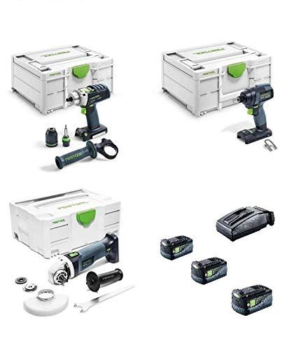Festool 405021 Schlagschrauber PDC + TID Schlagschrauber + AGC Schleifer