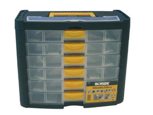Ironside M261495 - Organizador plastico 6 compartimentos