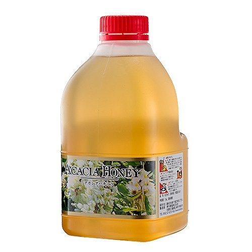 [熊手のはちみつ] 中国産アカシア はちみつ (ポリ 2kg) 100%純粋 ハチミツ 蜂蜜