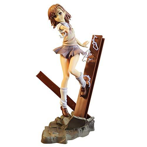 Magical Banned Book Catálogo Juguete Misaka Mikoto Modelo de personaje Anime Belleza Figura Muñecas Misaka Mikoto Figura Estatuas Juguetes Anime Regalos Juguetes Modelo Niños Cumpleaños 24cm