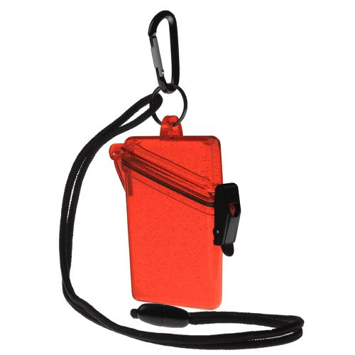 Witz 04006-Red Glitter Box 2 Waterproof Case