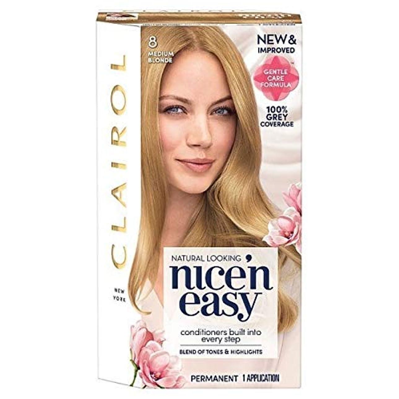 カメラ衝突コースリス[Nice'n Easy] Nice'N簡単8人の媒体ブロンド - Nice'n Easy 8 Medium Blonde [並行輸入品]