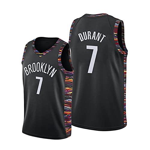 GFQTTY Camiseta para Hombre Brooklyn Nets # 7 Camiseta De Baloncesto De La NBA con Bordado Malla Transpirable De Secado Rápido Camiseta De Ventilador Sin Mangas
