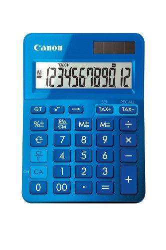Calculadora sobremesa Canon LS-123K Azul