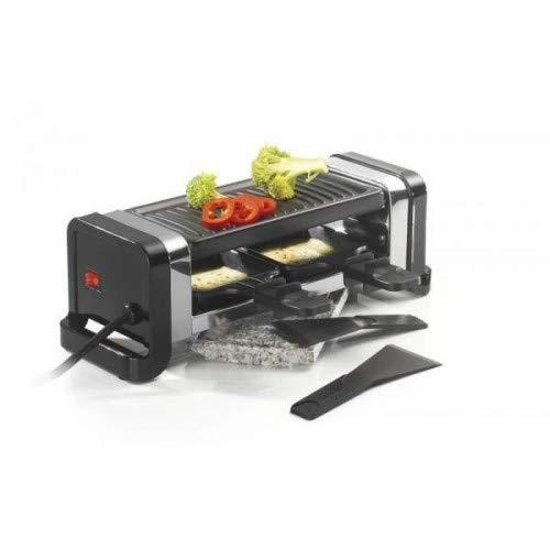 KITCHEN CHEF Raclette/pierre/gril Duo noir GR202-350N
