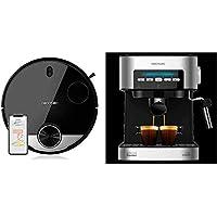 Cecotec Robot Aspirador Conga Serie 3290 Titanium + Power Espresso 20 Cafetera