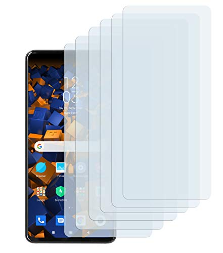 mumbi Schutzfolie kompatibel mit Xiaomi Mi 9T / Xiaomi Mi 9T Pro Folie klar, Bildschirmschutzfolie (6x)