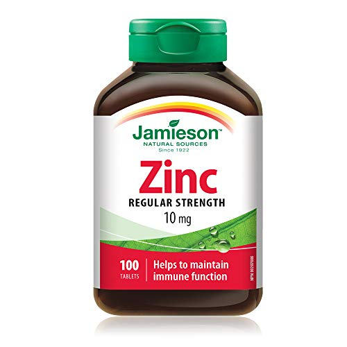Biovita 48720 Jamieson Zinco, Integratore Alimentare - 100 Compresse