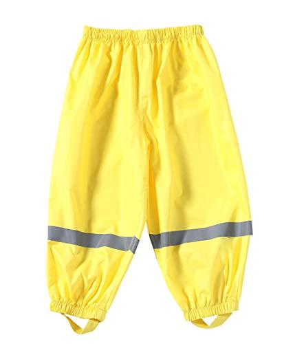 BenBoy Pantaloni Impermeabili Bambino Traspirante Pantaloni da Pioggia Trekking Pantaloni di Fango Abbigliamento Pioggia per Ragazza Ragazzo