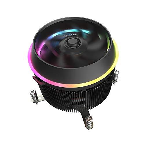 Noua Akari PRO Dissipatore di Calore TDP 100W per CPU Intel Socket 1200 1150 1151 1155 1156 1366 2011 AMD AM3 AM4 Cooler Cooling Fan PWM Motherboard SYNC Addressable 5V ADD RGB per Intel Core i7 i5 i3
