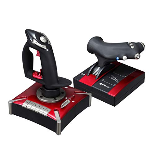 professional Tomsi flight control system, USB interface computer game flight joystick …