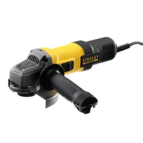 STANLEY FATMAX FMEG210-QS - Amoladora 115mm eléctrica de 850W, 12.000 rpm