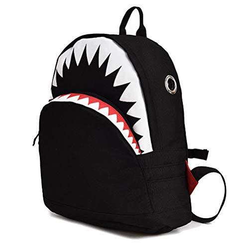 Uniyoung School Bags for Boys Girls, Kids Children Shark Backpack Rucksack...