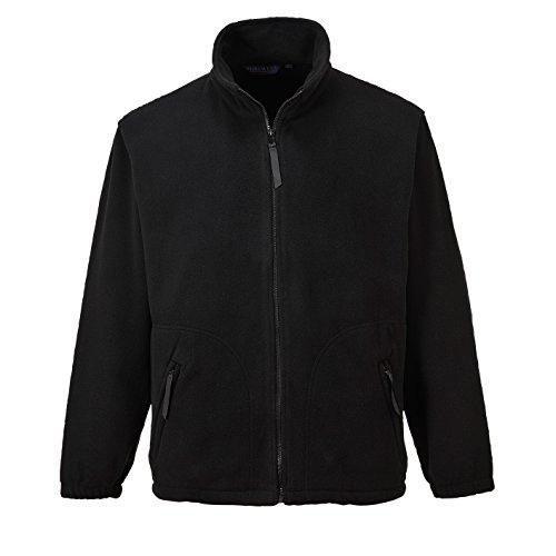 PORTWEST Argyll Heavy Fleece, 1 stuks, XS, zwart, F400BKRXS
