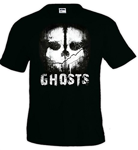 Mx Games Camiseta Call of Duty Ghosts - Skull